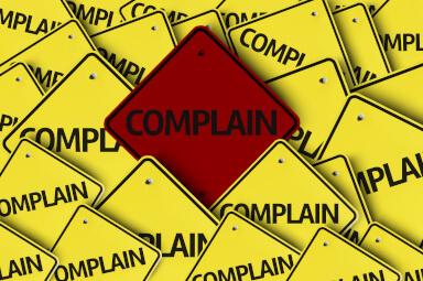 complain signage
