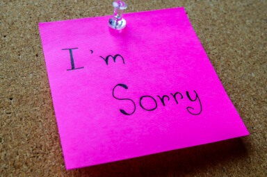 apology  i m sorry note  mcmaster  hayne