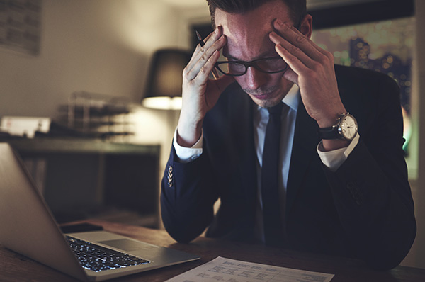 Struggling financial service provider