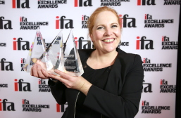 Katherine Hayes, Tiffen Insurance Services, ifa Excellence Awards, award winner