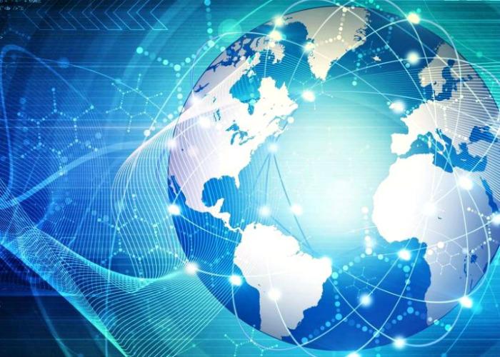 Fintech globe