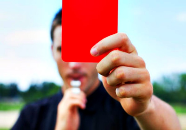 red card news