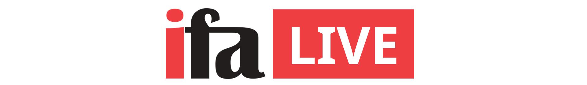 IFA live logo