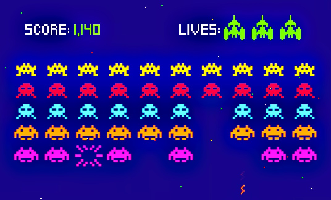space invaders news